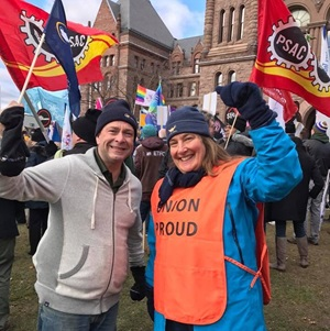R. Brown & S. Rab at Queen's Park