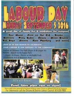 Labour Day 2016