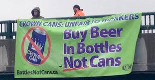 Bottles Not Cans