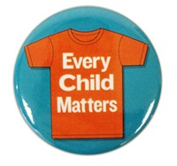 Every Child Matters Button
