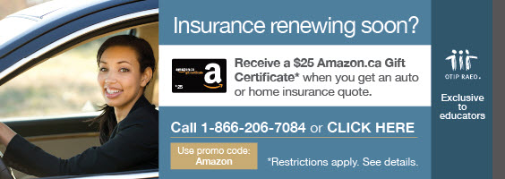 OTIP Sept Car Insurance Amazon Card